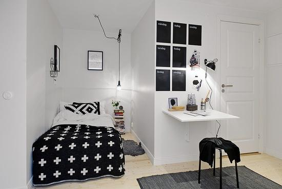 Awesome Chambre Ado Noir Et Blanc Garcon Contemporary House Design