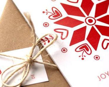 Des cartes de voeux de Noël à imprimer à la maison:  la-fabrique-à-bricole
