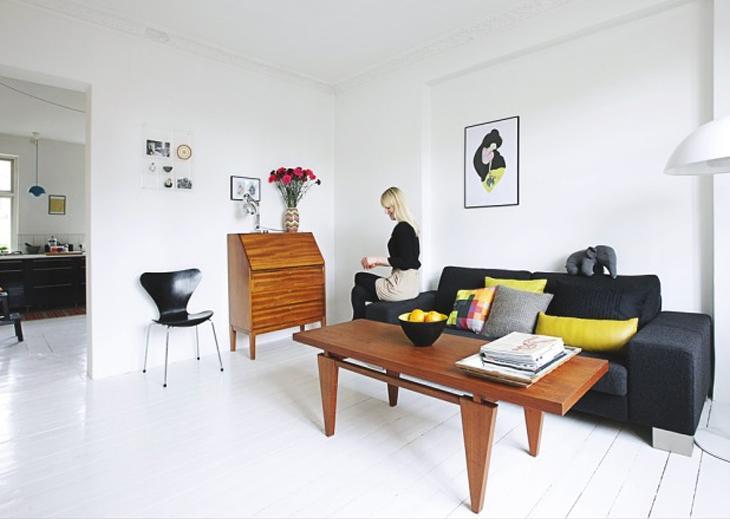 visite d co un appartement vintage color. Black Bedroom Furniture Sets. Home Design Ideas