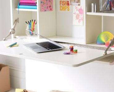 { Bureaux } Un bureau pliable pour les petits espaces