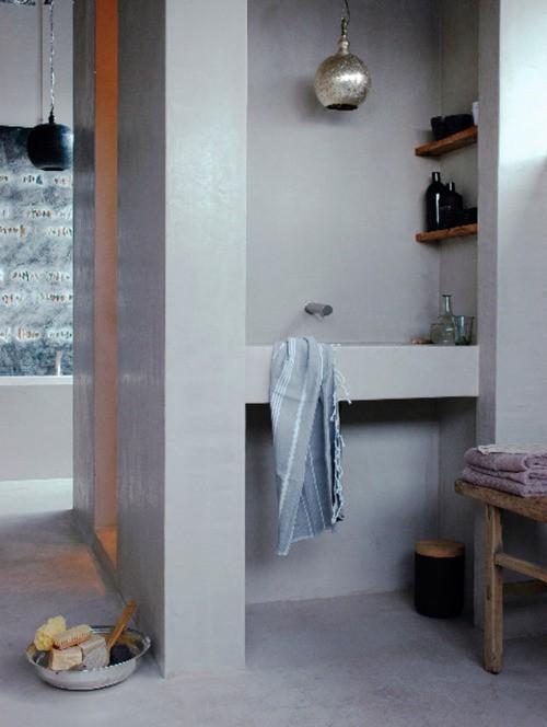 Modele Chambre A Coucher Pour Fille : decocrush25ideesdecopourunesalledebainbetoncire2
