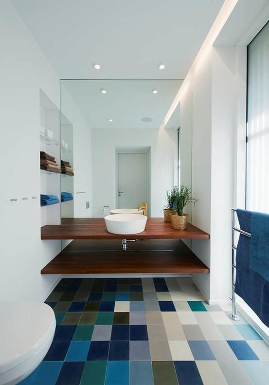 25 id es d co pour une jolie salle de bain for Idee de deco pour salle de bain