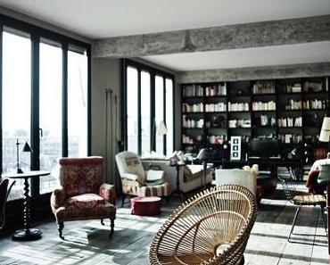 Un loft cosy, classique et moderne à Paris