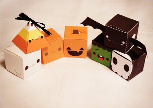 { DIY } Des papers toys pour Halloween !