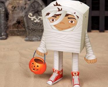 { DIY } Des papers toys pour Halloween !