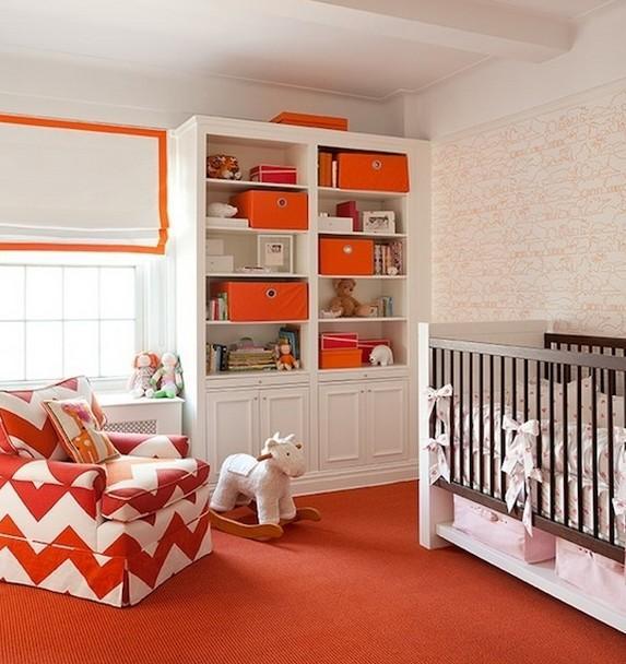 Chambre design jaune orange ~ Solutions pour la décoration ...
