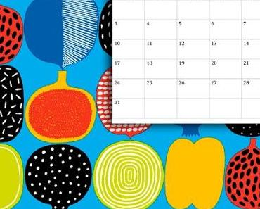 Des fonds d'écrans colorés et modernes à télécharger gratuitement chez Marimekko
