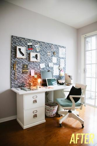 diy un mood board pour accessoiriser son bureau. Black Bedroom Furniture Sets. Home Design Ideas