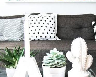 //Le détail déco// Un cactus dans ma maison