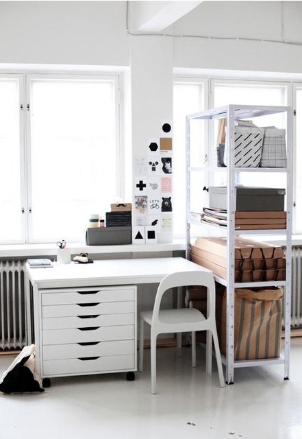 5 astuces d co pour un bureau fonctionnel petits prix - Astuce rangement bureau ...