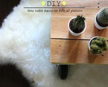 //DIYourself// Une table basse en bois de palette