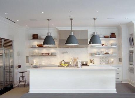 Comment bien choisir l clairage de sa cuisine for Eclairage suspension cuisine design