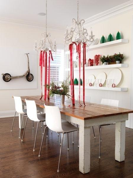 Inspiration id es d co pour un no l chic et magique for Table de noel chic