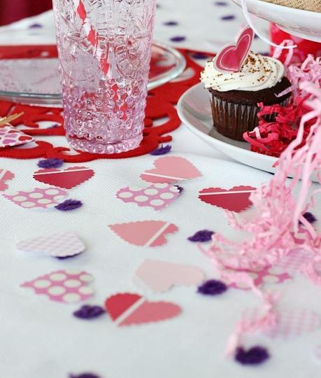 D coration de la table pour la st valentin - Decoration table st valentin ...