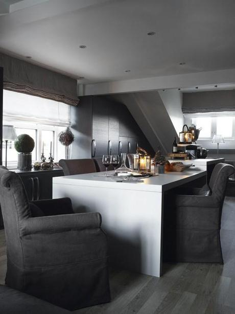ambiance campagne chic trendy inique idee cuisine campagne peinture with ambiance campagne chic. Black Bedroom Furniture Sets. Home Design Ideas