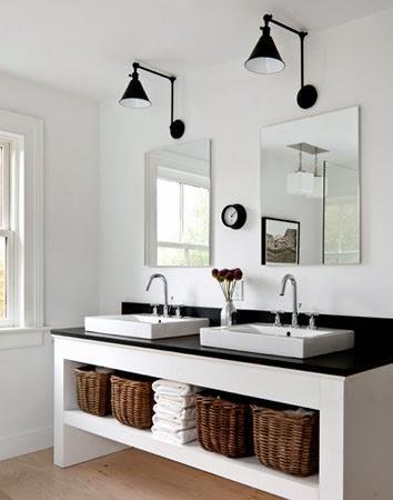 d co black white n 2 la salle de bains. Black Bedroom Furniture Sets. Home Design Ideas