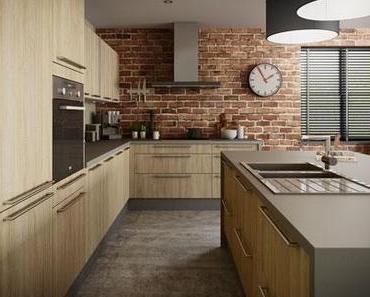 //Le détail déco// Un mur de briques dans la cuisine