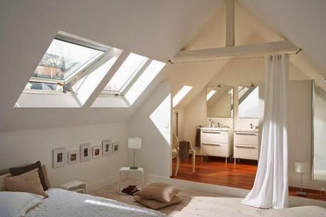 home challenge les combles. Black Bedroom Furniture Sets. Home Design Ideas