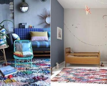 | Le détail déco | Le tapis Boucherouite vs Beni Ouarain »