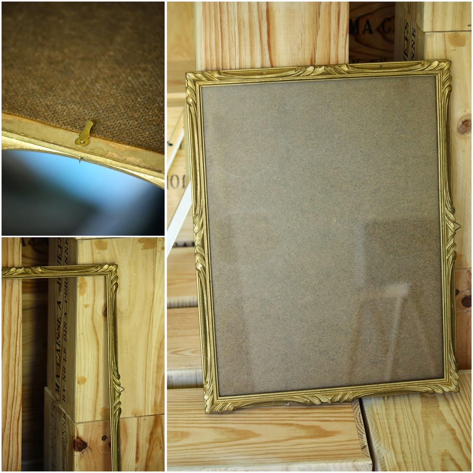Relooking d 39 un cadre ancien avec les peintures maison d co for Cadre maison deco