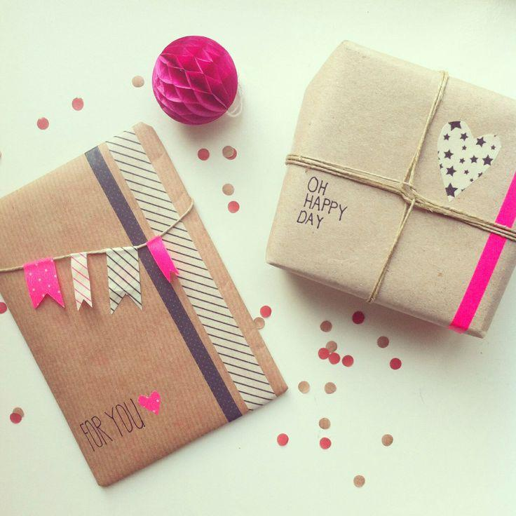 diy paquets cadeaux. Black Bedroom Furniture Sets. Home Design Ideas
