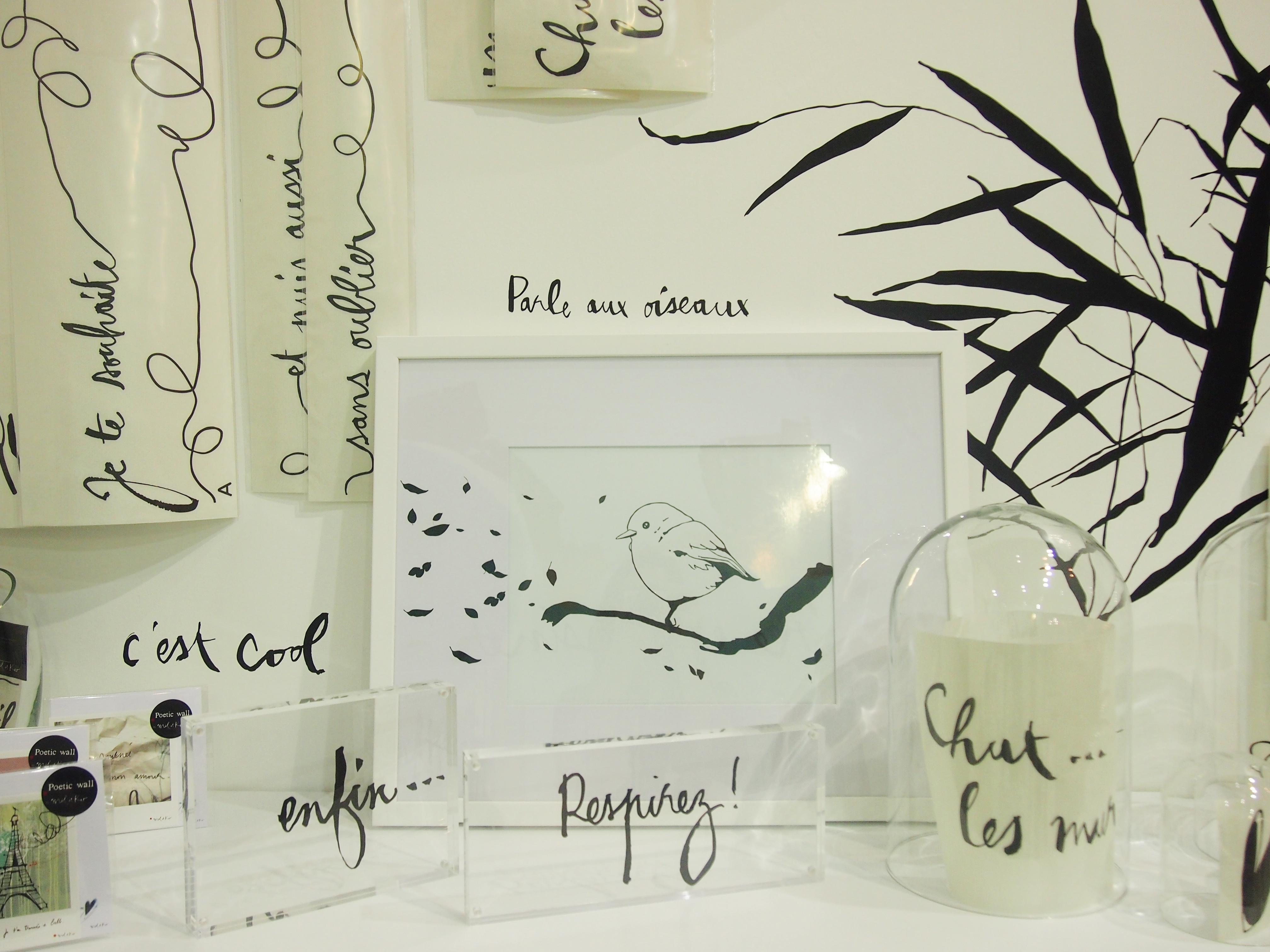 Poetic Wall Mel Et Kio ecrire et dessiner – encore – en toute liberté » mel et kio