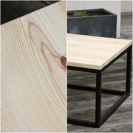 tuto peinture une table basse unique. Black Bedroom Furniture Sets. Home Design Ideas
