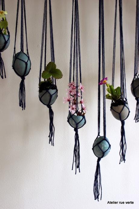 DIY / Mes suspensions printanières pour Pâques / Urban Jungle Bloggers /
