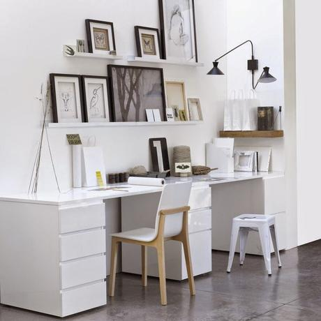 Home challenge un bureau chez soi - Faire son plan de travail soi meme ...