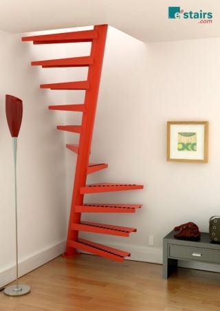 10 escaliers qui donnent du style votre int rieur. Black Bedroom Furniture Sets. Home Design Ideas
