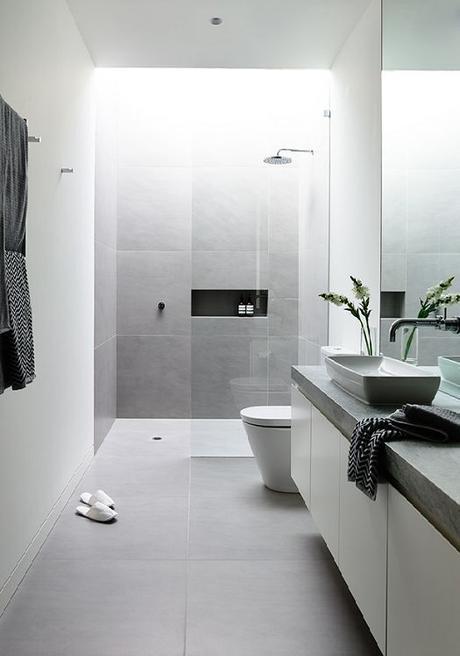 Id es d co pour une salle de bain moderne et contemporaine - Idees decoration salle de bain ...
