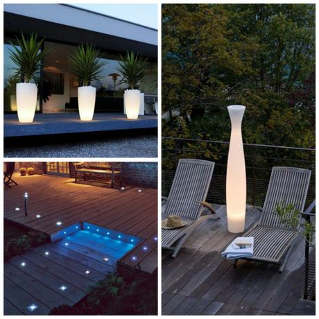 Astuces comment am nager sa terrasse for Luminaire exterieur terrasse