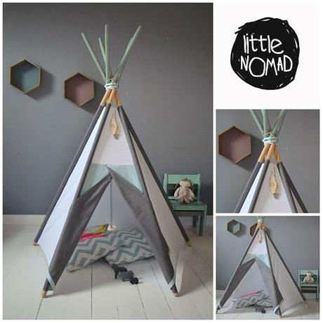 un tipi pour une chambre d enfant. Black Bedroom Furniture Sets. Home Design Ideas