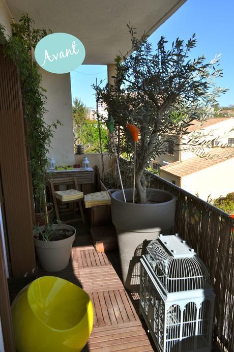 avant apr s ma terrasse prend des airs boh me chic pour cet t. Black Bedroom Furniture Sets. Home Design Ideas