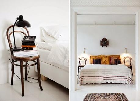 15 tables de nuit diy faciles fabriquer. Black Bedroom Furniture Sets. Home Design Ideas