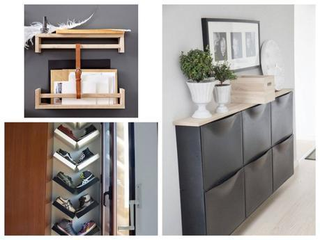 comment am nager une petite entr e. Black Bedroom Furniture Sets. Home Design Ideas