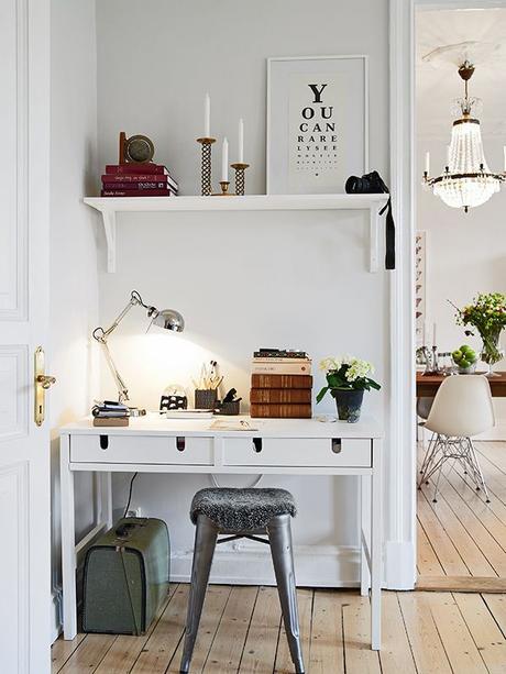 un coin bureau chez soi. Black Bedroom Furniture Sets. Home Design Ideas