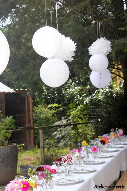 D co de table petit repas entre amis pour mon for Idee repas diner entre amis