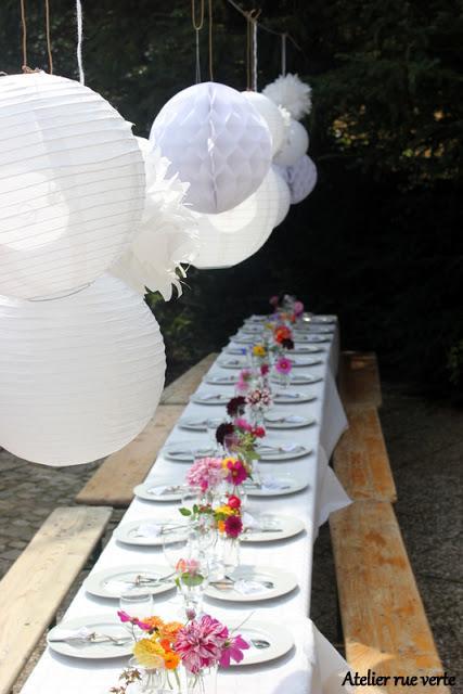 D co de table petit repas entre amis pour mon for Repas pour amis