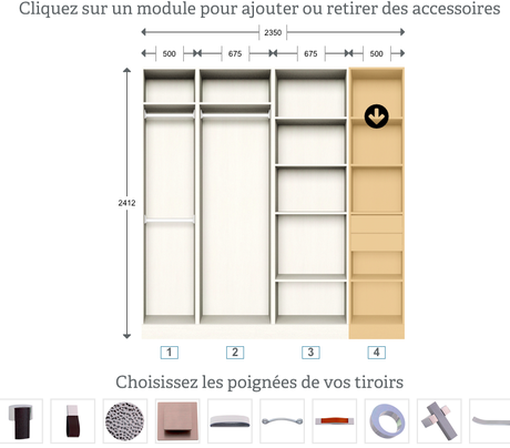 crush un dressing sur mesure pour la rentr e. Black Bedroom Furniture Sets. Home Design Ideas