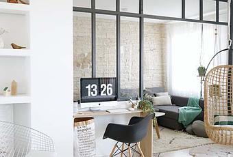 diy ma verri re d int rieur esprit atelier d artiste fait maison. Black Bedroom Furniture Sets. Home Design Ideas
