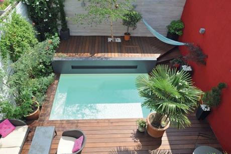 Cet hiver on profite de son jardin gr ce aux piscines caron - Piscine pour petit espace ...