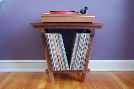 Ranger ses vinyles s lection meuble vinyle rangement platine for Meuble pour tourne disque