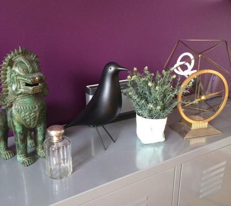 j ai os peindre un mur de mon salon de couleur et vous. Black Bedroom Furniture Sets. Home Design Ideas