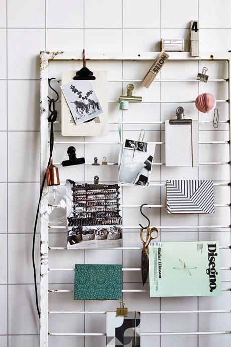 diy 5 moodboards de bureau faciles r aliser. Black Bedroom Furniture Sets. Home Design Ideas