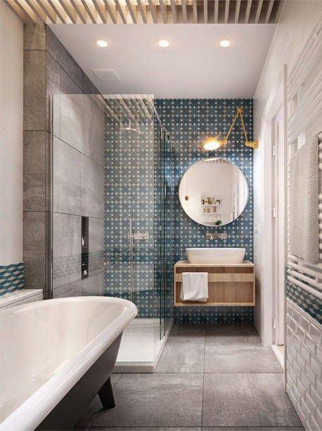 Best Salle De Bain Zellige Bleu Ideas - Amazing House Design ...