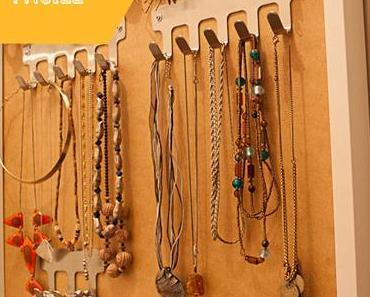 {Tuto-DIY} Un porte-bijoux facile