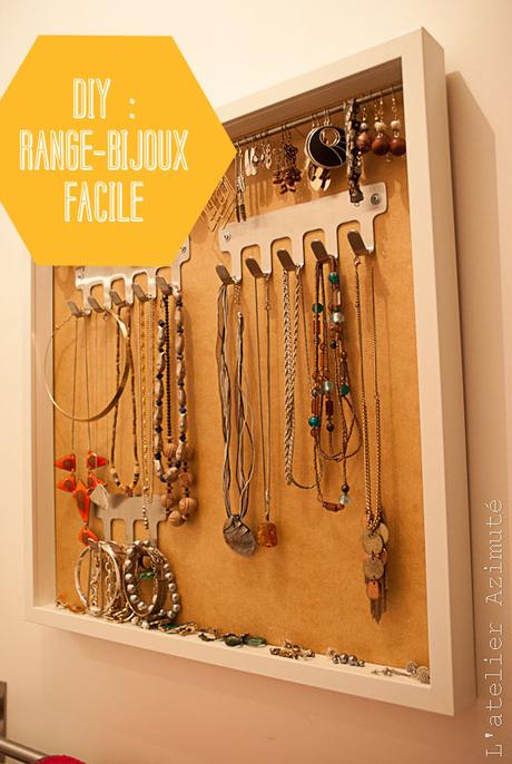 tuto diy un porte bijoux facile. Black Bedroom Furniture Sets. Home Design Ideas