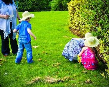 Organiser des chasses aux oeufs de Pâques avec les enfants