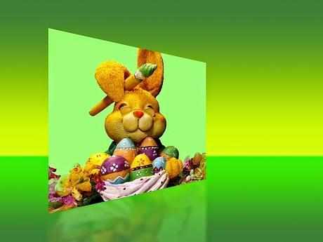 Bricolage de paniers d'oeufs de Pâques avec du recyclé